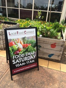 food swap sign