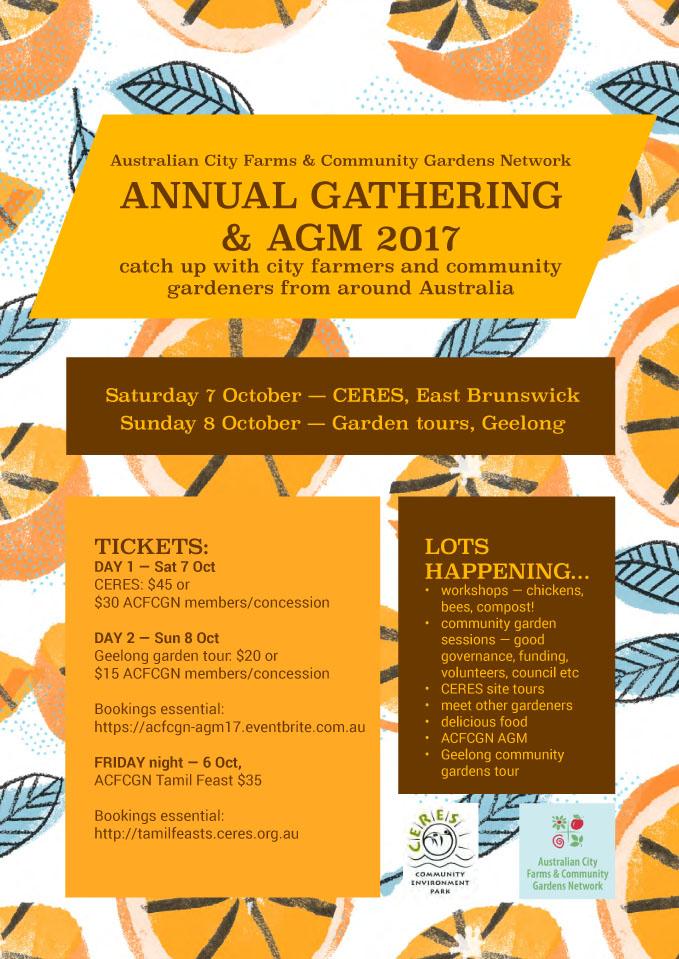 Australian City Farms & Community Gardens Network annual gathering @ CERES   Brunswick East   Victoria   Australia