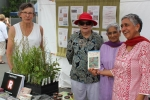 Eltham Bookshop hosted a table selling bush food books and native bush food plants.