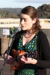 Lucy Wise sings a blend of folk, chamber and pop music.