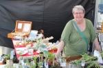 Sandra Macneil sold herbs and seedlings.