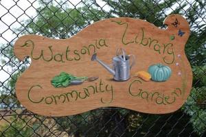 Watsonia Library Community Garden