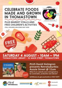 Taste of Thomo Food Festival @ Thomastown Library | Thomastown | Victoria | Australia