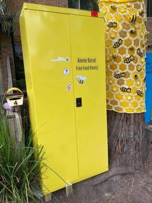 Annie Borat Community Cupboards