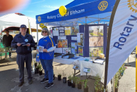 Celebrating World Bee Day, Eltham Rotary discussed bees, both native and honey.