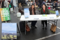 Fay and Michelle, of Nillumbik Council, consulted the public on the future of the Green Wedge.