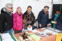 The Nillumbik Reconciliation Group had a NAIDOC display, including foods made from native bush food plants.