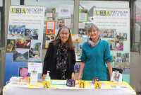 Cathy Romeo and Judy Vizzari, from Nillumbik U3A (University of the Third Age), told people about their range of activities and courses.