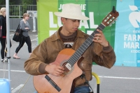 Alejandro Aguanta is a Melbourne-based classical guitarist who plays tunes from popular to traditional South American.