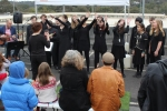 Eltham High School Choir sang a variety of songs.