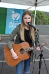 Ash Sumpter, from Eltham, sings and plays guitar, using a loop station for most songs.