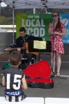 David and Brenna, from Eltham and Warrandyte, play an assortment of pop, soul, blues and jazz music.