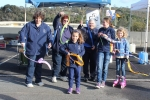 Eltham Girl Guides performed poi twirling, mini-facepainting and ribbon twirling.
