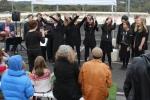 Eltham High School Choir sang a variety of songs.