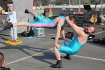 Borris and verysilly (aka Jaimie and Jack) are a circus duo who act out a variety of comedy routines based on balance, acrobatics, and juggling.