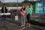 The Cuz (aka Amber, Naomi and Natalie), from Warrandyte, sang and played keyboards.