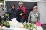 Jan and John Peggie sold grapefruit, lemons, passionfruit and silverbeet.